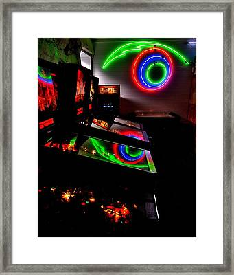 Replicant Arcade Framed Print by Benjamin Yeager