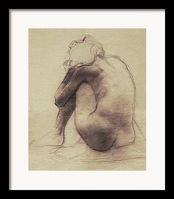 Life Drawing Drawings Drawings Framed Prints