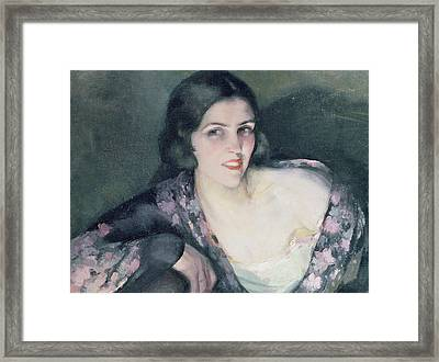 Repose Framed Print by Eugene Cyprian Boulet