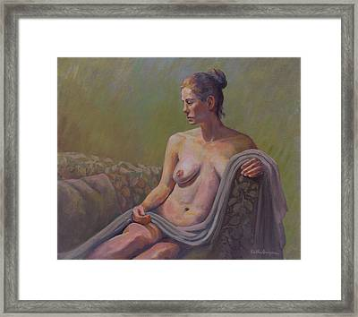 Repose Framed Print by Keith Burgess