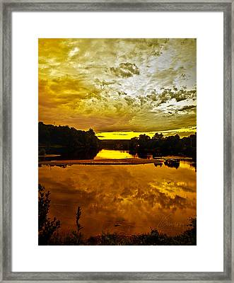 Framed Print featuring the photograph Repose by Tom Cameron