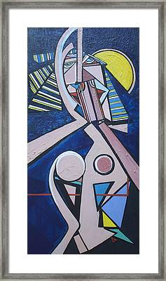 Repray Framed Print by Valerie Wolf