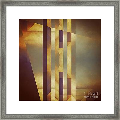 Repressed Altarpiece Framed Print by Lonnie Christopher