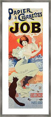 Reproduction Of A Poster Advertising Framed Print