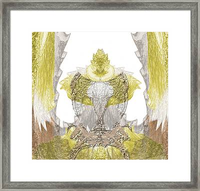 Reptile King Framed Print by Christopher Gaston