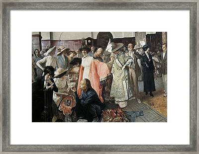 Republic Of China 1913. Chinese Framed Print by Everett