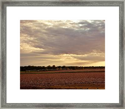 Republican River Valley Framed Print by Tracy Salava