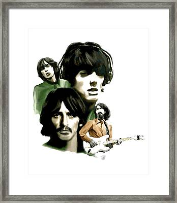 Requiem II George Harrison Framed Print by Iconic Images Art Gallery David Pucciarelli