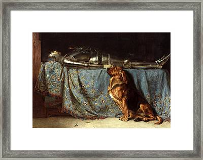 Requiescat Framed Print by Briton Riviere