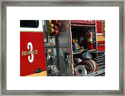 Rescue 3 Framed Print by Steven Townsend
