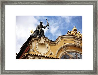 Rescue In Prague Framed Print by John Rizzuto
