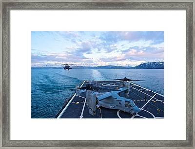 Rescue Operations Framed Print by Staff Sgt Zachary Wolf