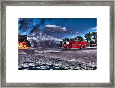 Rescue Path Framed Print by Tommy Anderson