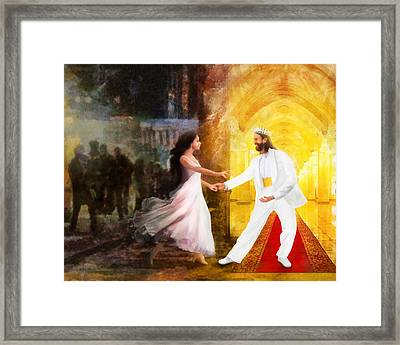 Rescued From Darkness Framed Print