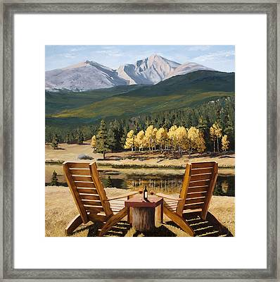 Reserved Framed Print by Mary Giacomini