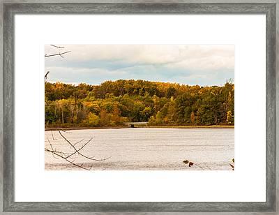 Reservoir Bridge Framed Print