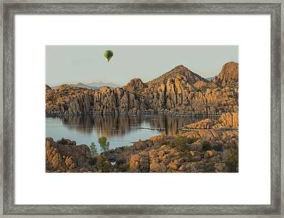 Reservoir Framed Print