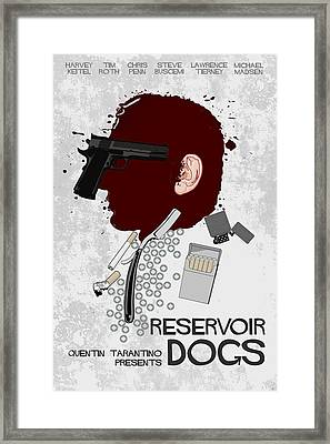 Reservoir Dogs Framed Print by Edgar Ascensao