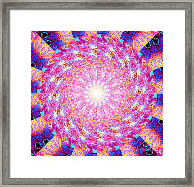 Resh Framed Print by Aeres Vistaas