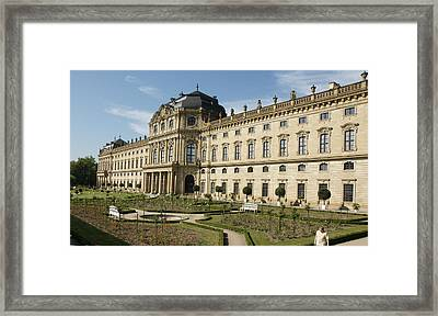 Framed Print featuring the photograph Residenz Wurzburg by Christian Zesewitz
