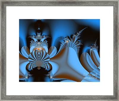 Resignation And Reality Abstract Digital Art Framed Print
