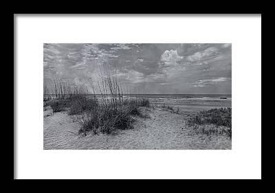 Saint Augustine Beach Framed Prints