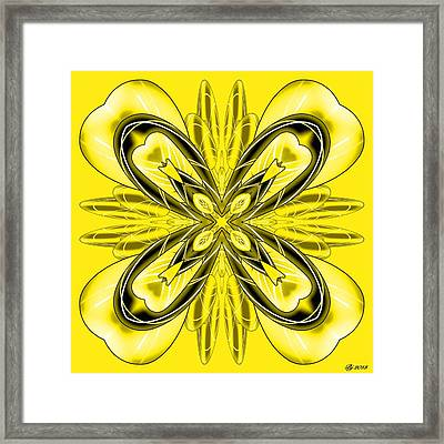 Resist The Flow 10 Framed Print