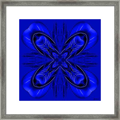 Resist The Flow 11 Framed Print