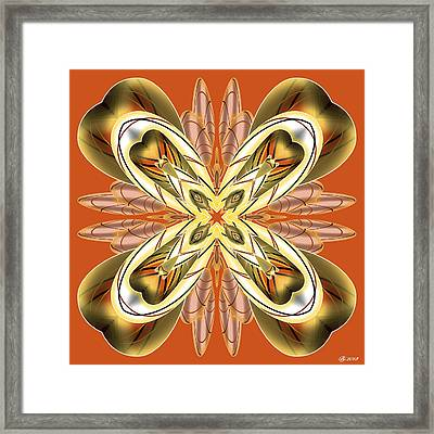 Resist The Flow 12 Framed Print by Brian Johnson