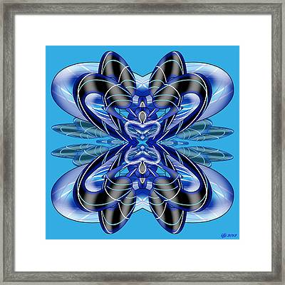 Resist The Flow 8 Framed Print