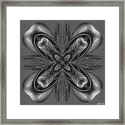 Resist The Flow Tile Print Framed Print by Brian Johnson