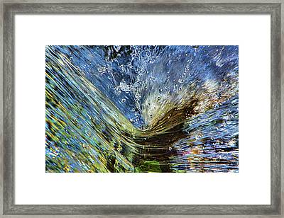 Resistance Is Futile Framed Print by Gary Holmes