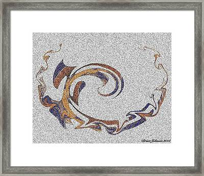 Resistant Persistant Tile 1 Framed Print by Brian Johnson