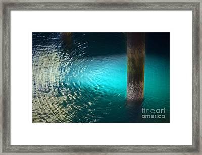 Resonance Framed Print by Gwyn Newcombe