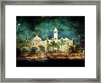 Resort Framed Print by Athala Carole Bruckner