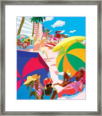 Resort Framed Print