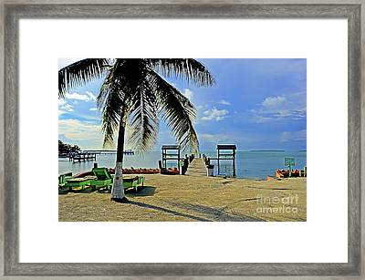 Resort II Framed Print by Bruce Bain