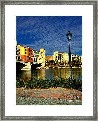 Resort In Henderson Nevada Framed Print