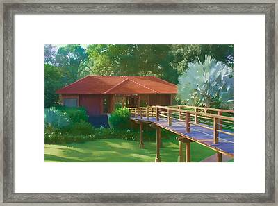 Resort Spa Framed Print
