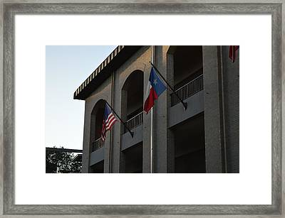 Respect Framed Print by Shawn Marlow
