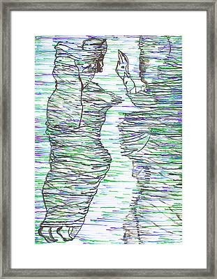 Ressurection Framed Print by Gloria Ssali