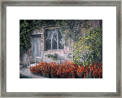 Framed Print featuring the painting Rest Awhile by Rosemary Colyer