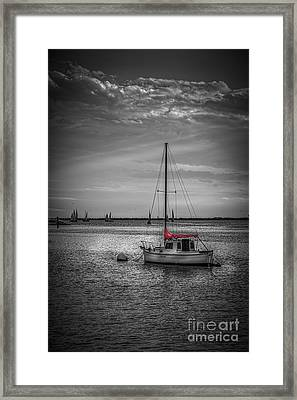 Rest Day B/w Framed Print