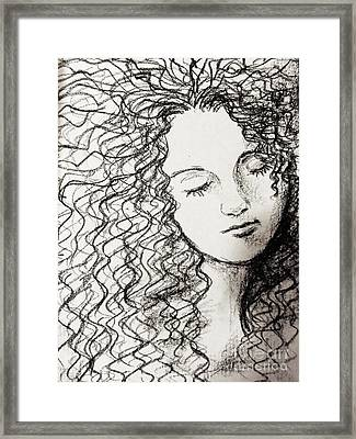 Rest Framed Print by Esther Rowden