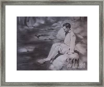 Rest For The Weary Framed Print by Mary Lynne Powers
