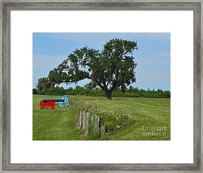 Rest In Peace Framed Print by Alys Caviness-Gober
