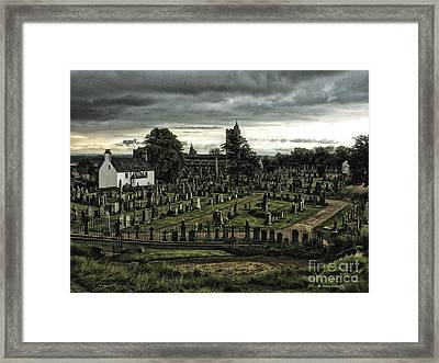 Rest In Peace Framed Print