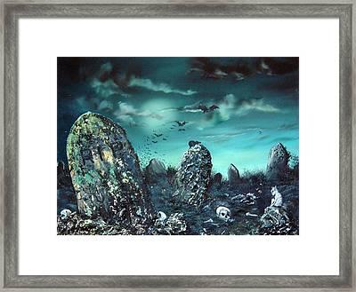 Rest In Peace Framed Print by Jean Walker