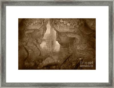 Rest In Peace Framed Print by Marianne Jensen