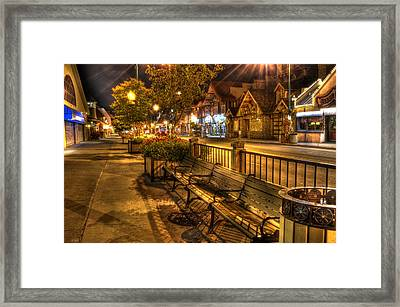 Rest Stop Framed Print by Greg and Chrystal Mimbs
